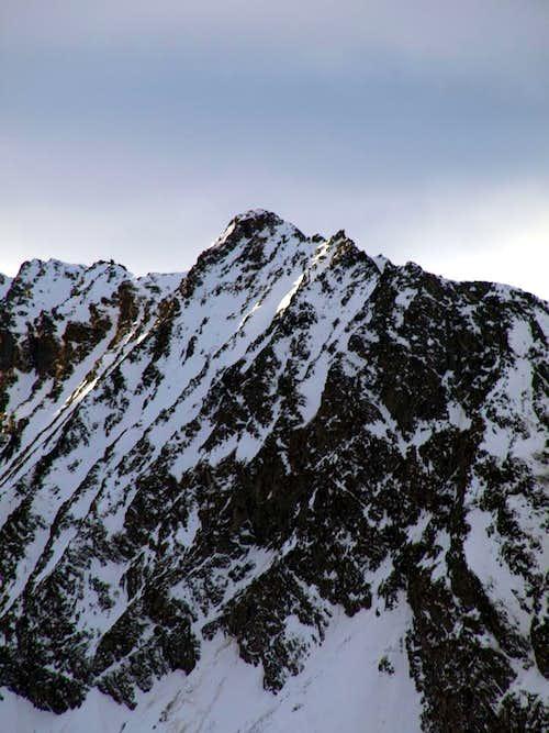 Pointe Lavincusse on NE Ridge of Pointe Trayo 2016