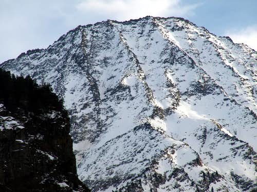 Trajo or Trayo even Traso Summit from Northwest 2016