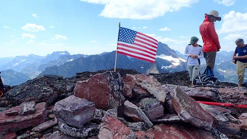 July 4th, Bearhead Mountain