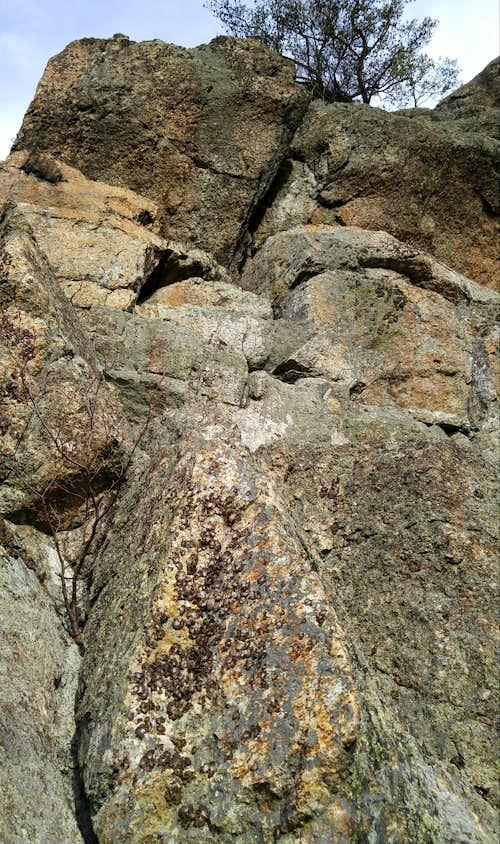 Love Gap Crags-- Crack a Smile (5.8)