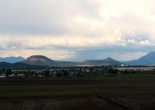View of Tumamoc Hill (near...