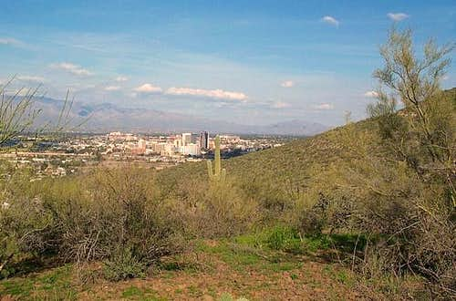 A view of downtown Tuscon...