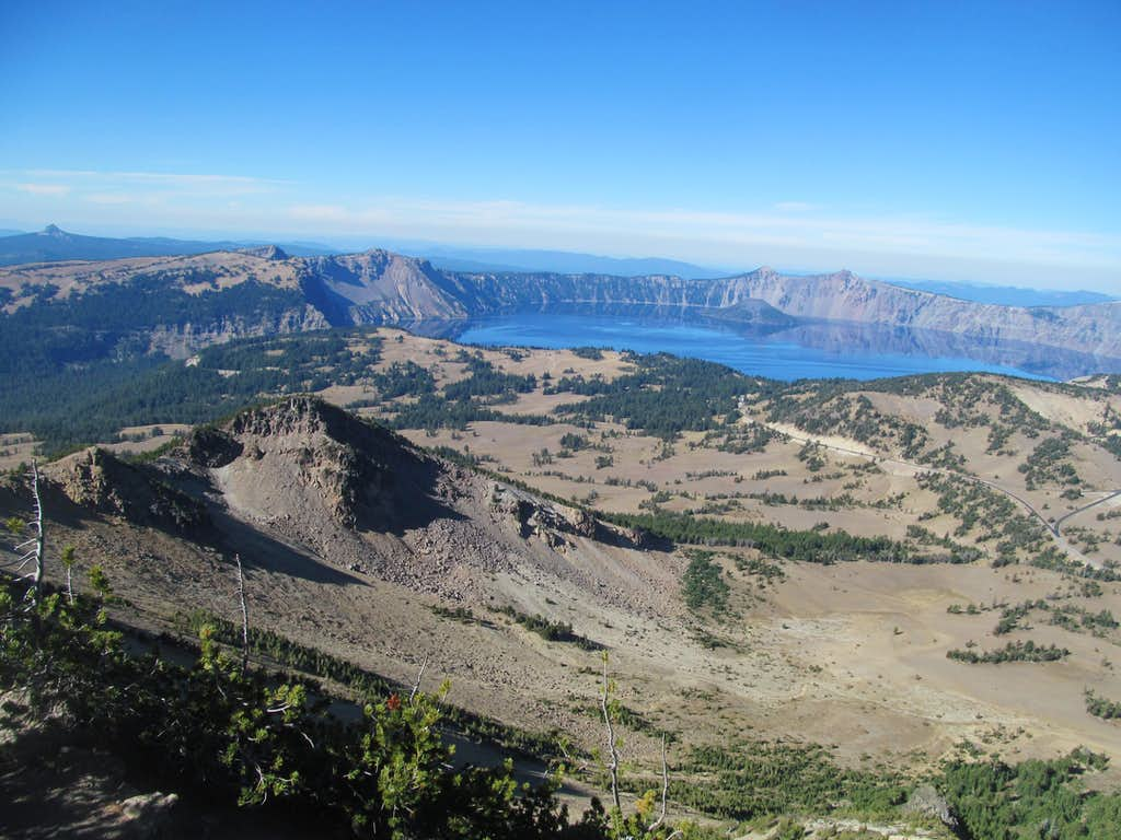 Crater Lake from Scott