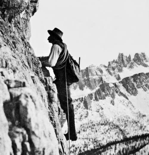 Alpine Guide Angelo Dibona on Dolomites