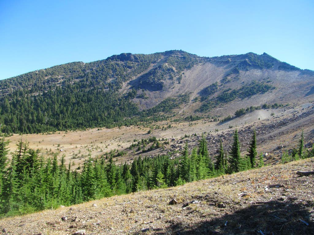 Mt. Scott from trail