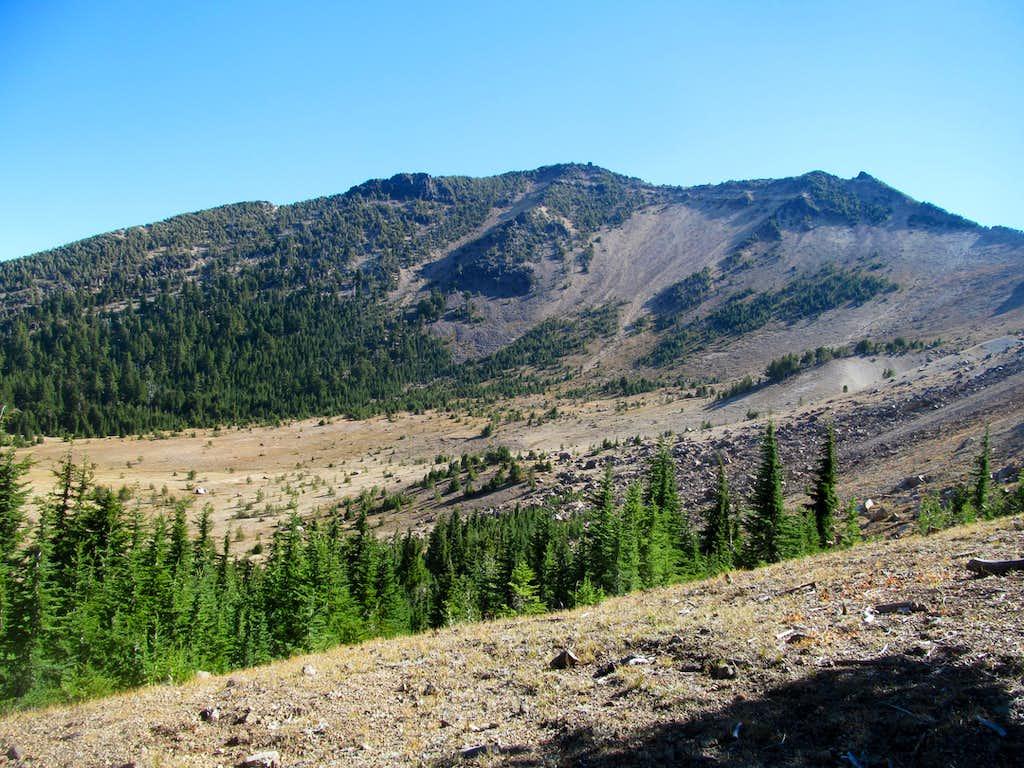 Mt. Scott from trail