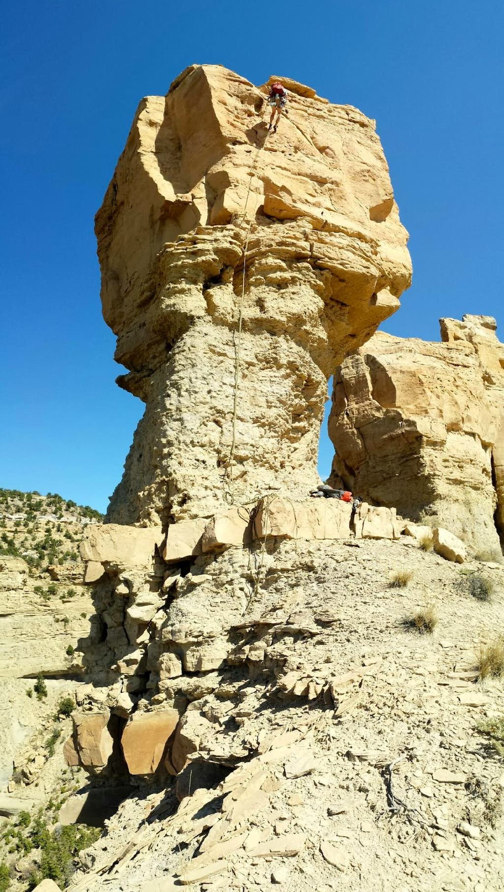 Balanced Rock (view of route)