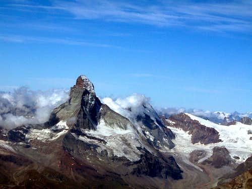 Cervino-Matterhorn seen from Alphubel