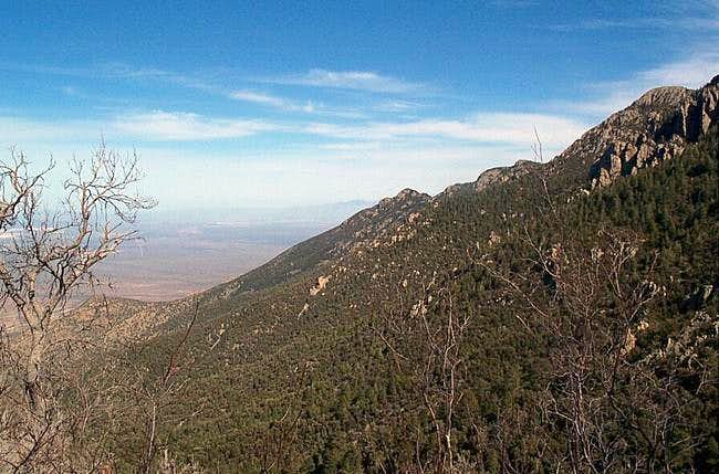 Shot from the Old Baldy Trail...