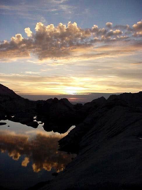 Sunrise from 12,000.