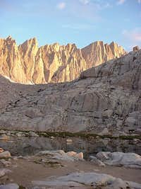 Sunrise on the East Face from...