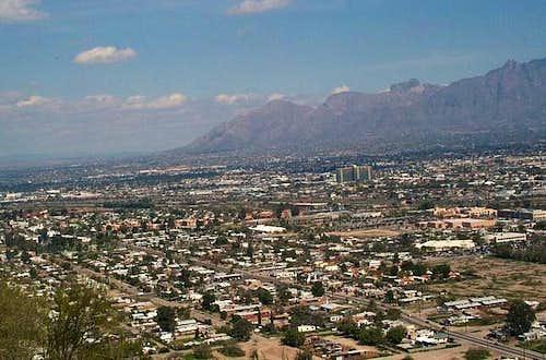View from Sentinel Peak...