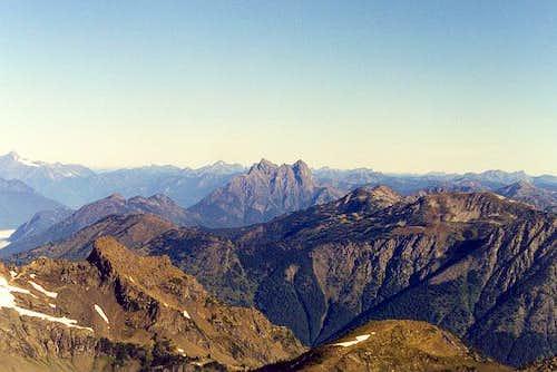 Hozomeen Mountain from the...