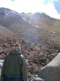Milling Around camp at 5400m...