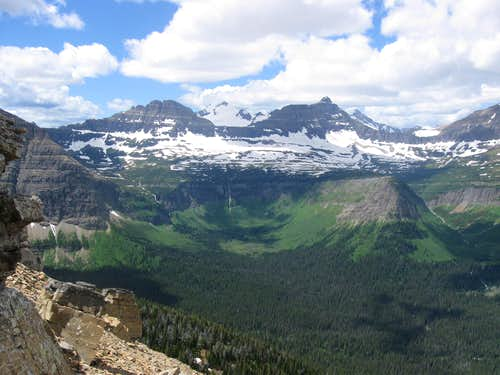Awesome Views Towards Clyde, Blackfoot and Logan
