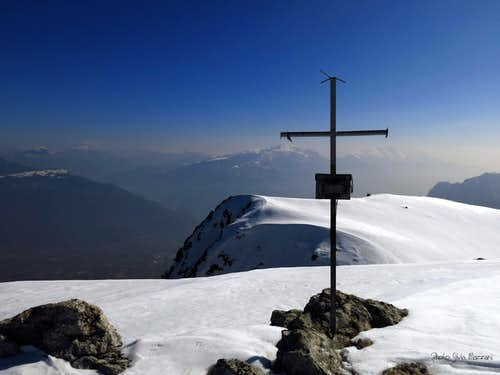 Summit of Monte Misone