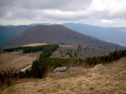 Sam Knob(6040') as viewed...