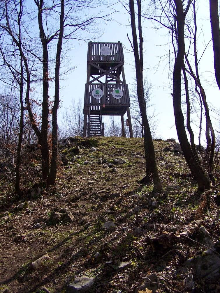 The outlook tower of Nevoljas
