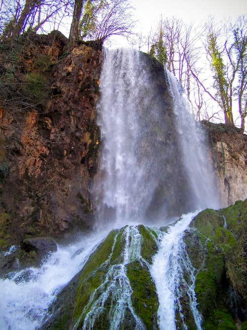 Jankovac waterfall