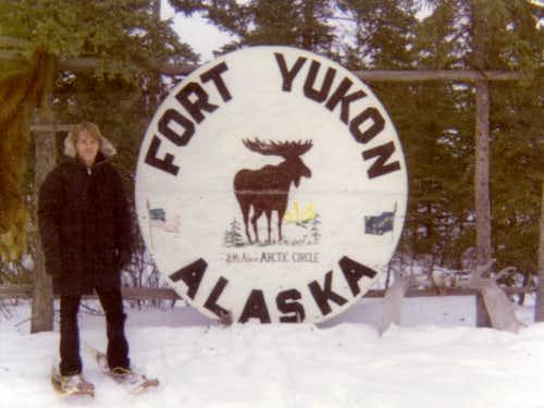 Fort Yukon Showshoeing