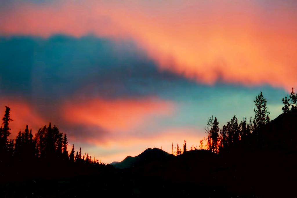 Alaskan Border Sunset