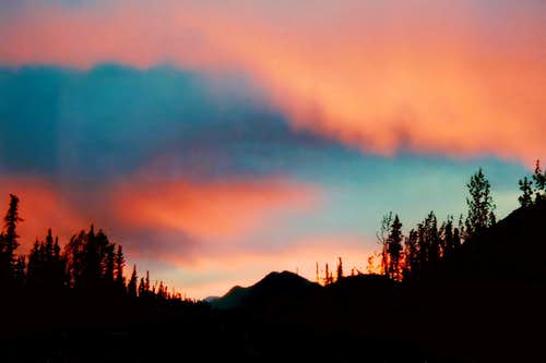 Alaskan Border Sunset