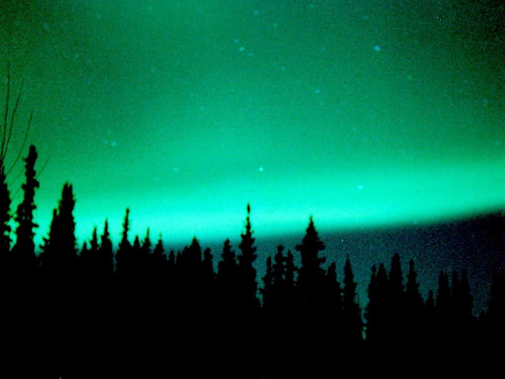 Tanana Valley Northern Lights