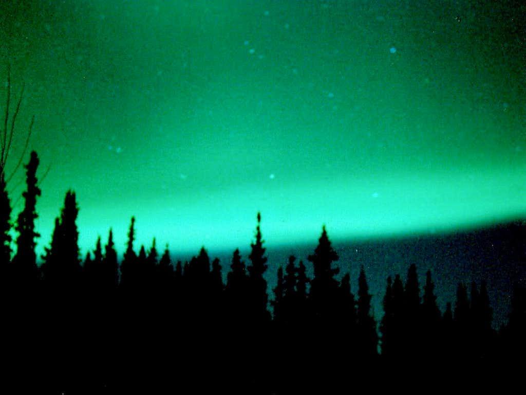 Tanana Valley Northern Lights