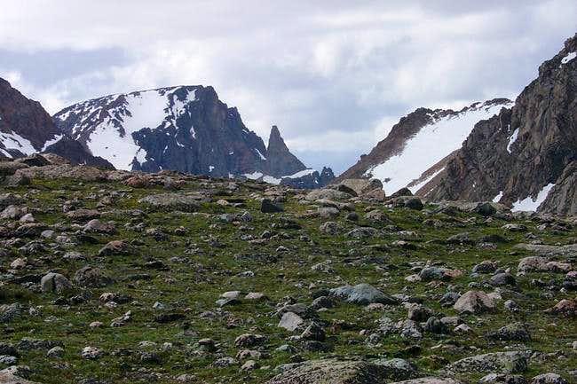 Beartooth Mountain from near...