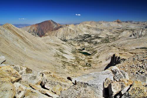 Mt. Julius Caesar Summit View