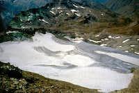 Tessonet glacier and vallone di Grauson...