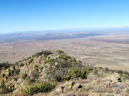 Robledo Mountains and Las Cruces