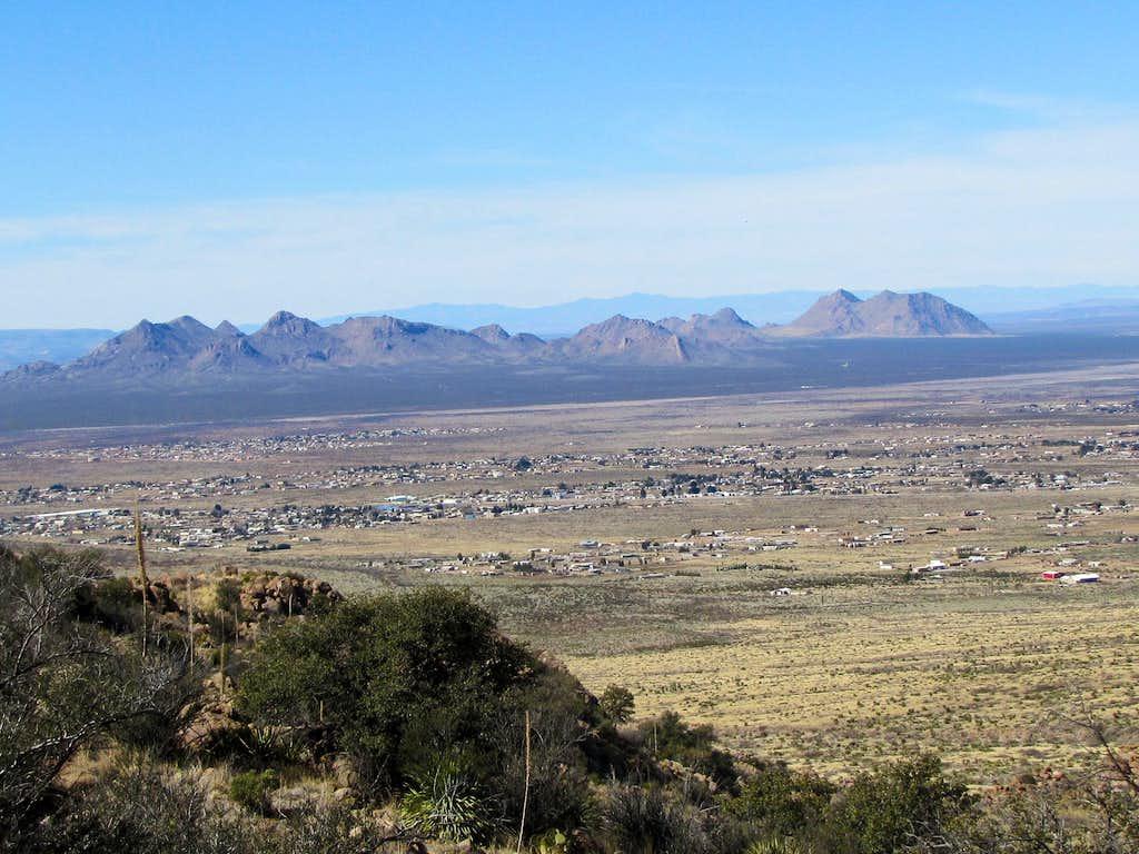 Robledo Mountains & Las Cruces
