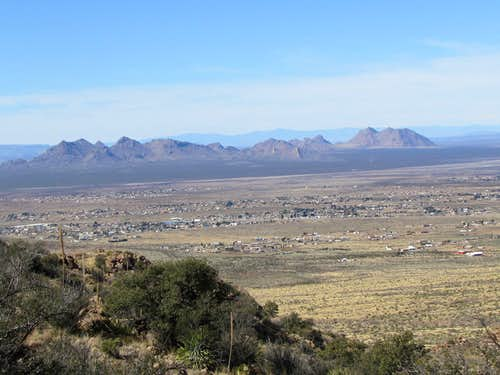 Robledo Mountains & Las Cruces