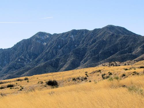 Northeast face of Baylor Peak