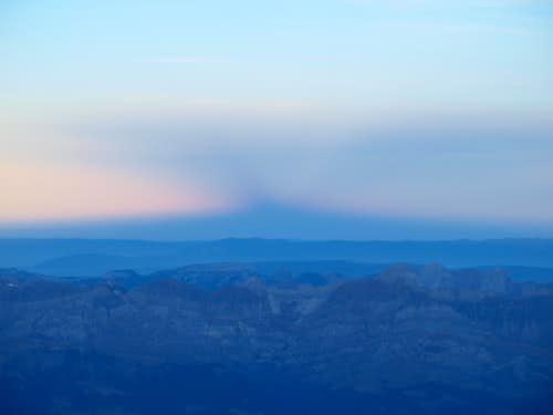 Mont Blanc in November
