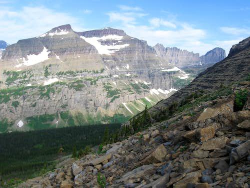 Piegan Mountain & Piegan Glacier
