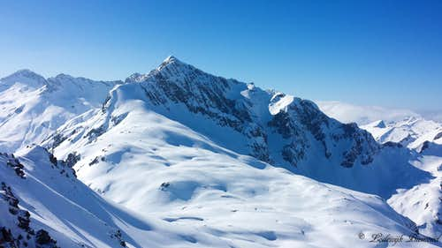 Braunarlspitze (2649m, East Face)