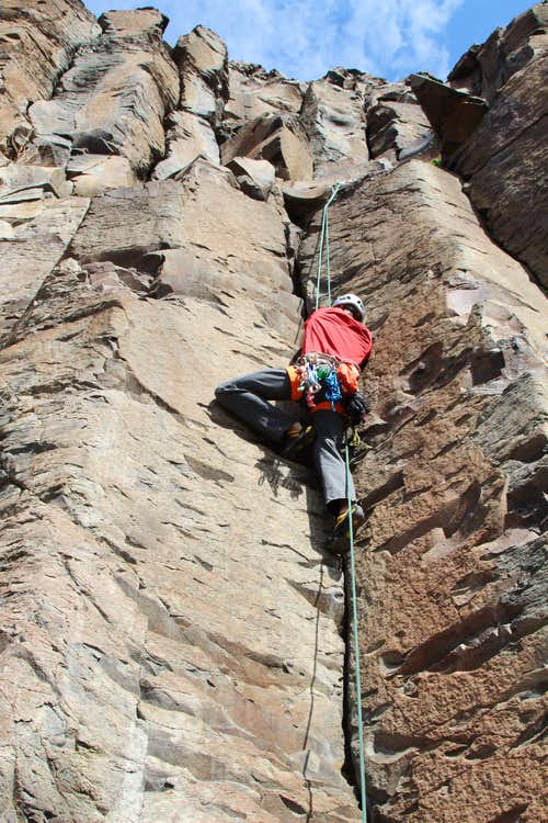an introduction to rock climbing Introduction to rock climbing if your thinking about testing your head for heights and wish to give rock climbing a go then why not try a day or two in the beautiful surroundings of the west coast of scotland.