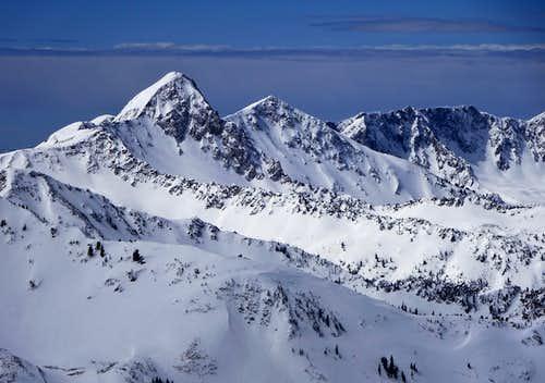 Pfeifferhorn From Mt. Baldy