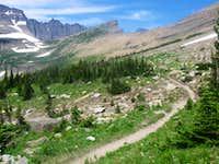 The Piegan Pass Trail is Fantastic