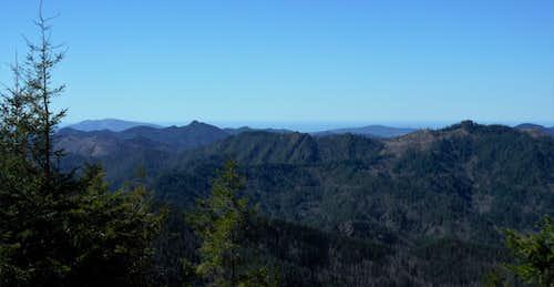Cedar Butte Summit Views