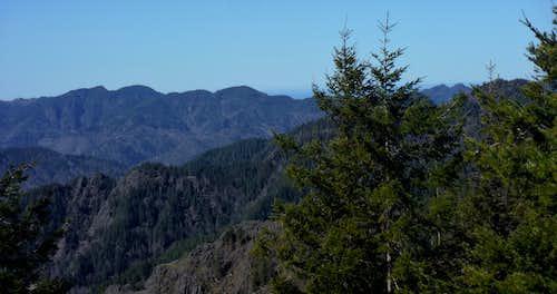 Pretty shot of the Coast Range