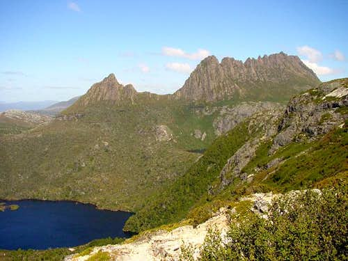 Cradle Mountain and Dove Lake...