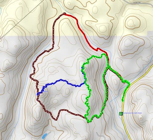 Sugarloaf Mountain Routes