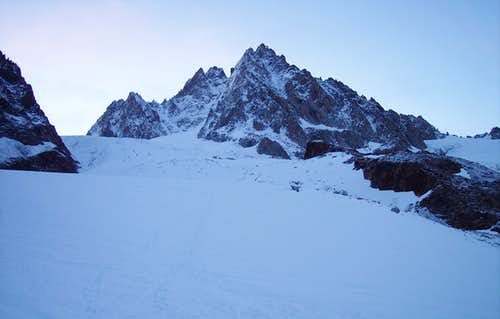 Aiguille du Tour west face