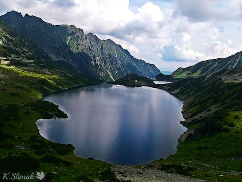Wielki Staw Polski is second in order of the largest lake in the Tatra Mountains