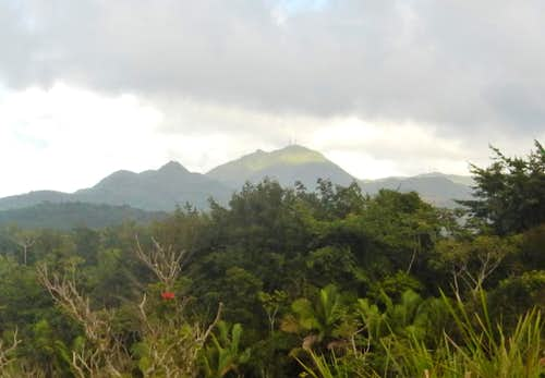 Cerro de Punta - Highpoint of Puerto Rico