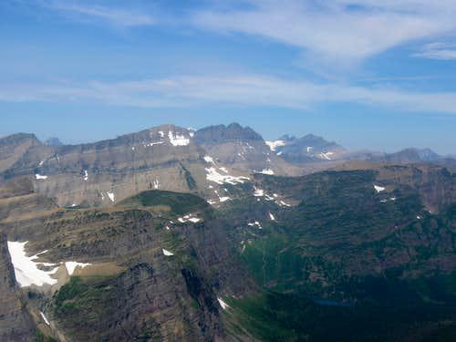 Peaks to the Northwest