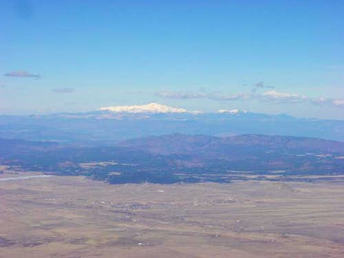 Pikes Peak from the summit....